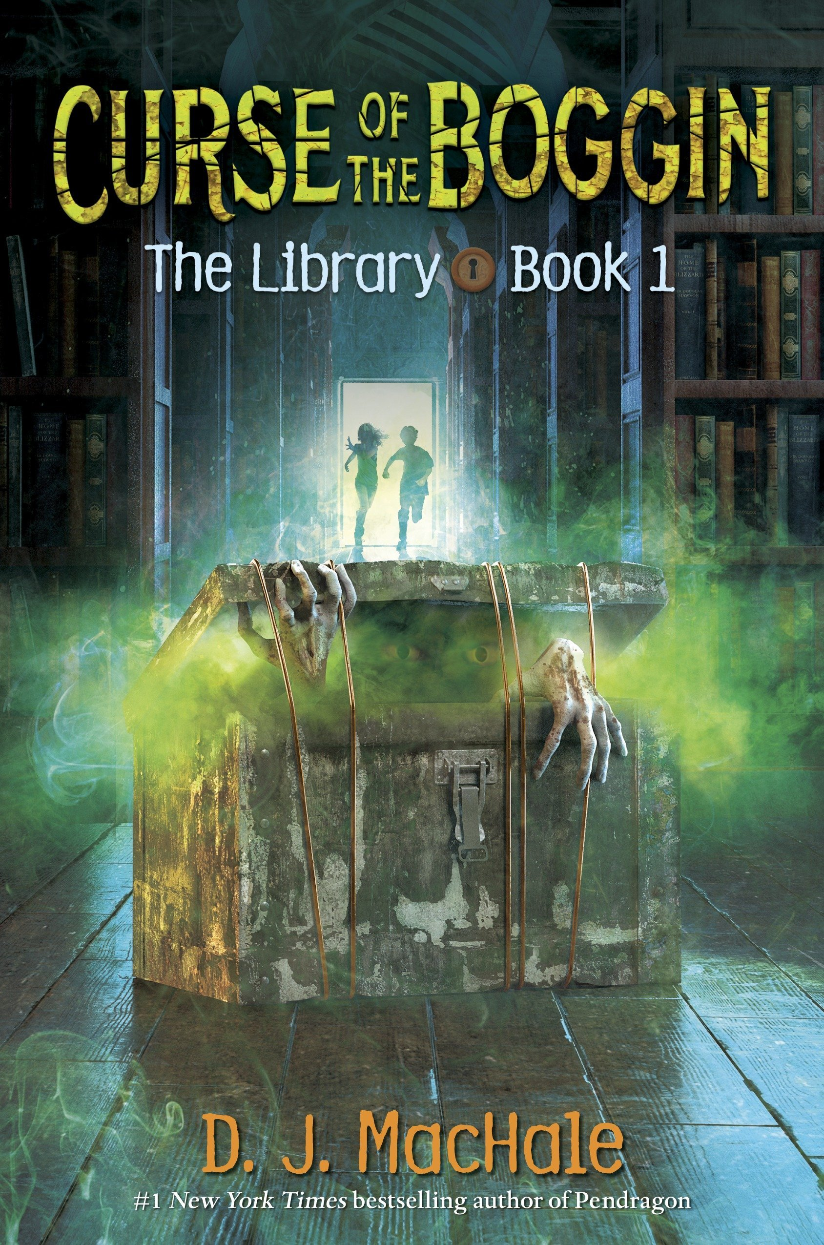 Curse of the Boggin (The Library Book 1)
