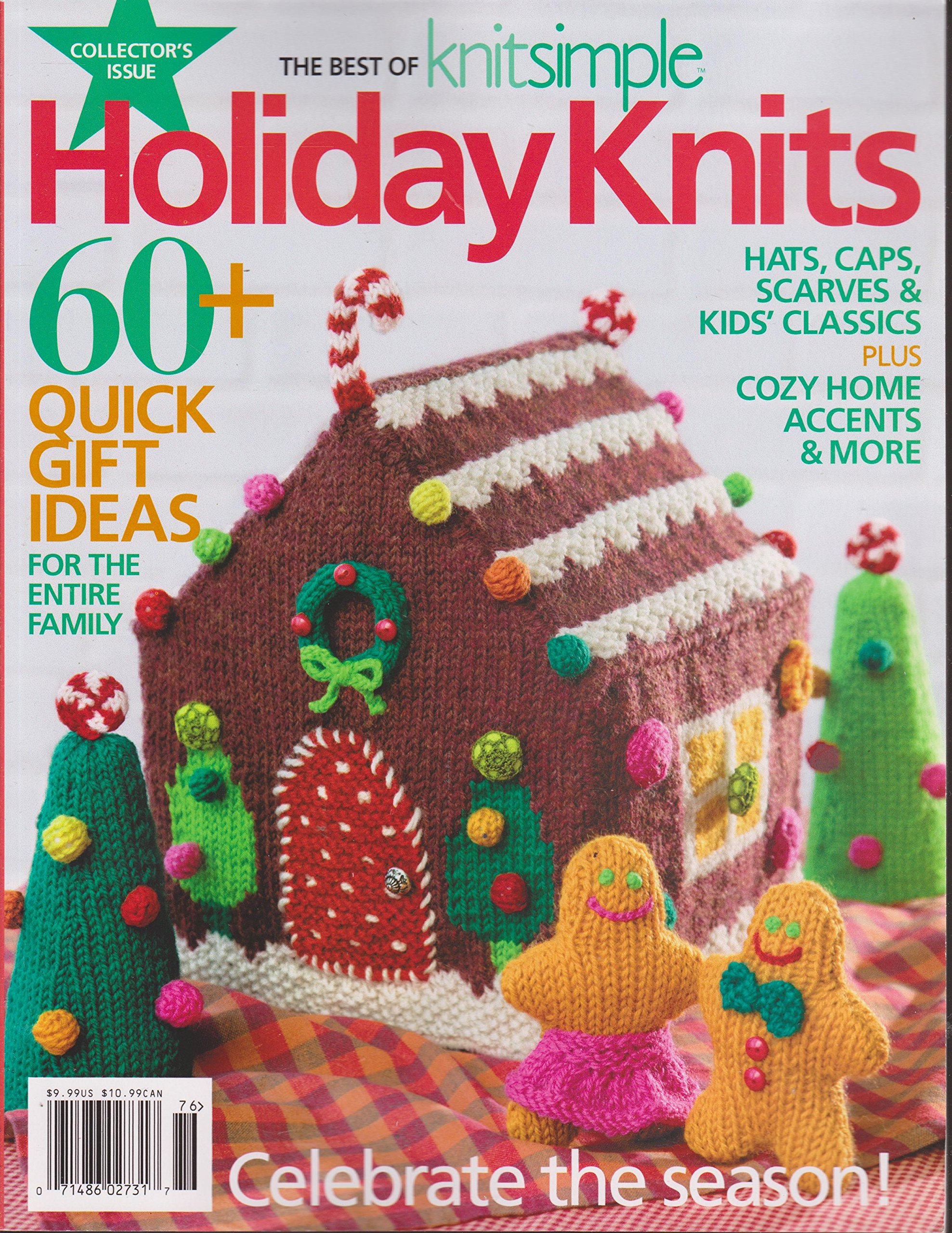The Best Of Knit Simple Magazine Holiday Knits 2017 Amazon Com Books