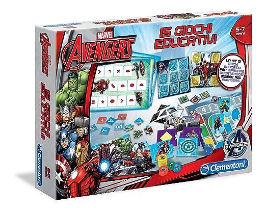 4 opinioni per Clementoni 13344- Avengers 15 Giochi Educativi