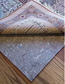 Felt Rug Pads For Hardwood Floors rug pad preventing floor damage 8x11 Rug Pads For Less Super Premium Tm Dense 100