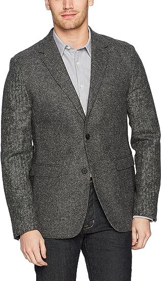 French Connection FCUK 全羊毛 男式拼色休闲西装外套 0.8折$32.53 海淘转运到手约¥301
