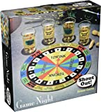 "Game NIght Shout Out Shot Glass Board Game Set, 9"", Multicolor"