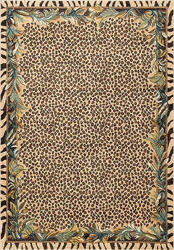 Safavieh Berber Shag Collection BER165C Cream and Light Grey Area Rug 8 x 10