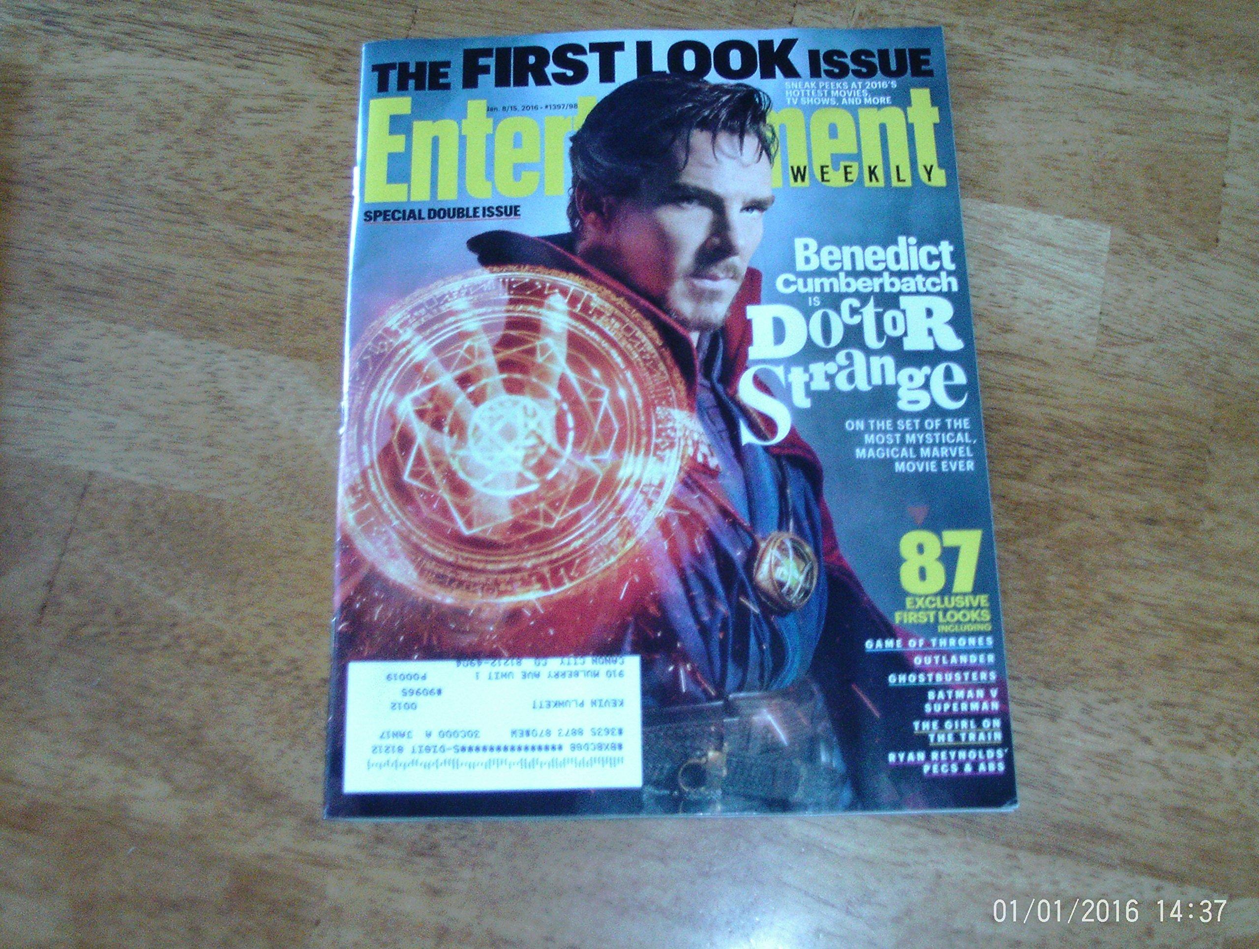 Download Entertainment Weekly January 8- 15, 2016 Benedict Cumberbatch is Doctor Strange ebook