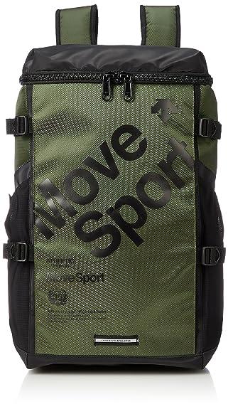 9b0a3367cb6c Amazon | [デサント] リュック MoveSports スクエアバックパック カーキ ...