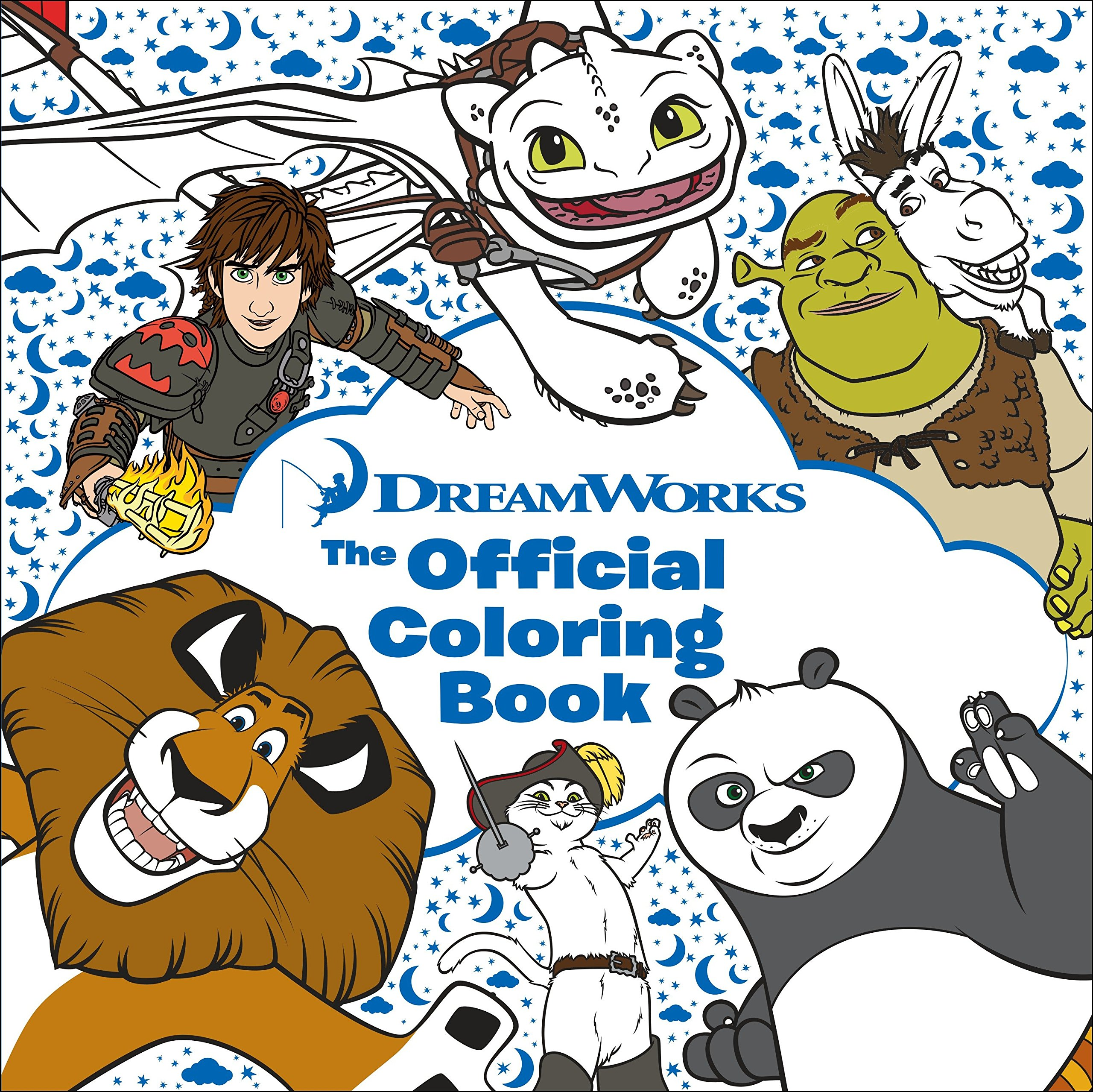 DreamWorks: The Official Coloring Book (Adult Coloring Book)