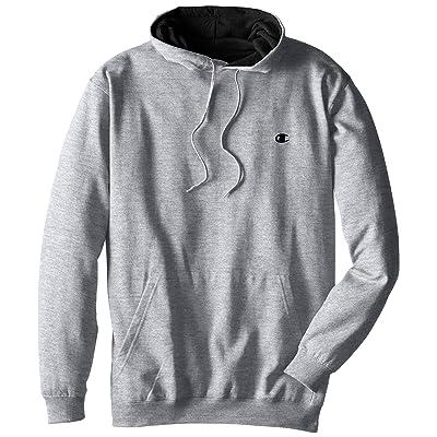 Champion Men's Big-Tall Fleece Pullover Hoodie: Clothing