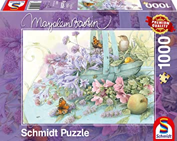 Geduldspiel Sommer-Residenz Puzzle Marjolein Bastin 1000 Teile Spiel Deutsch 2017 Puzzles & Geduldspiele