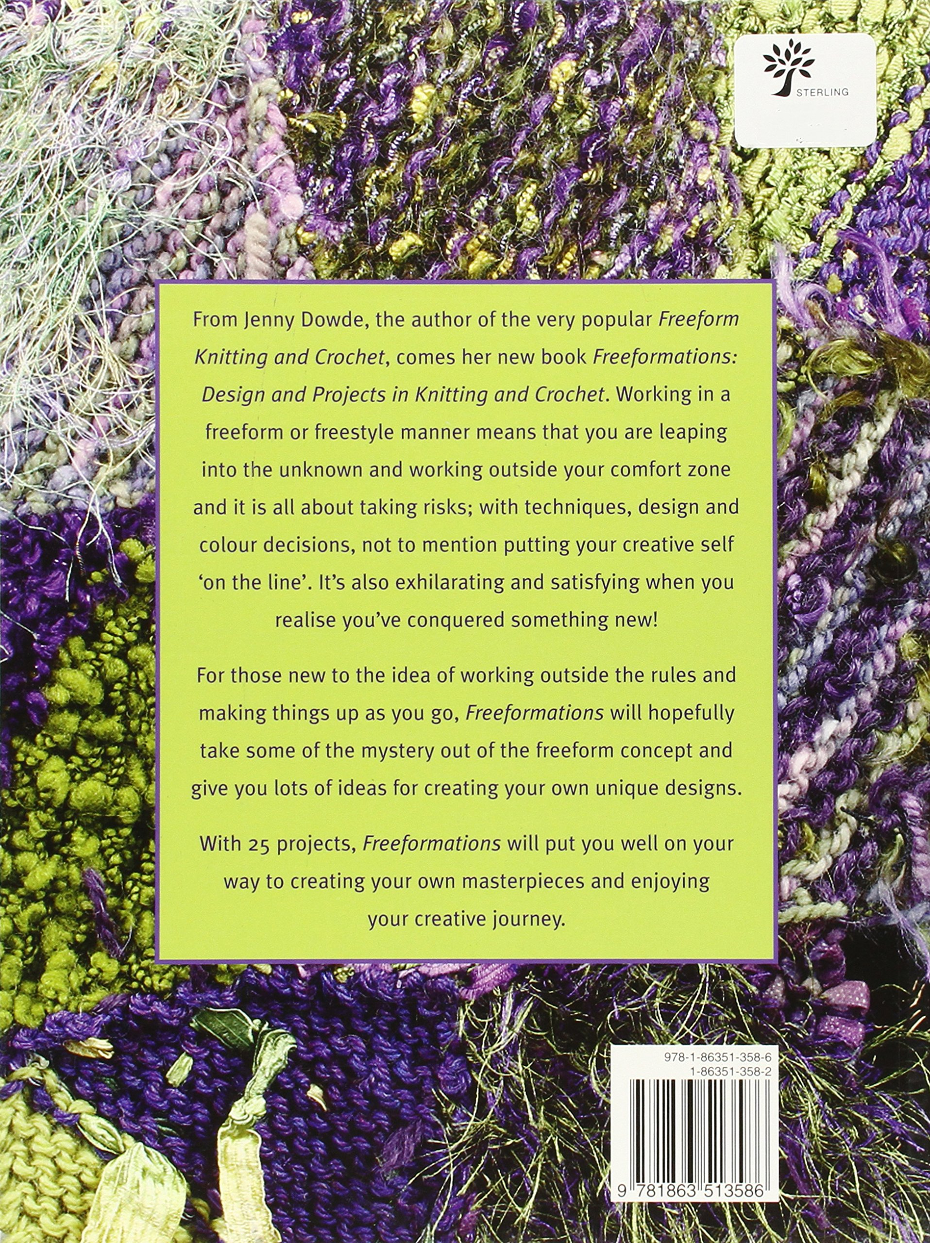 Freeformations: Design and Projects in Knitting and Crochet (Milner Craft  Series): Jenny Dowde: 9781863513586: Amazon.com: Books