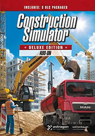 Construction Simulator: Deluxe Edition Add-On [Online Game Code]