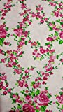 Betsey Johnson Vinyl Floral Roses Sheet Set (Queen)