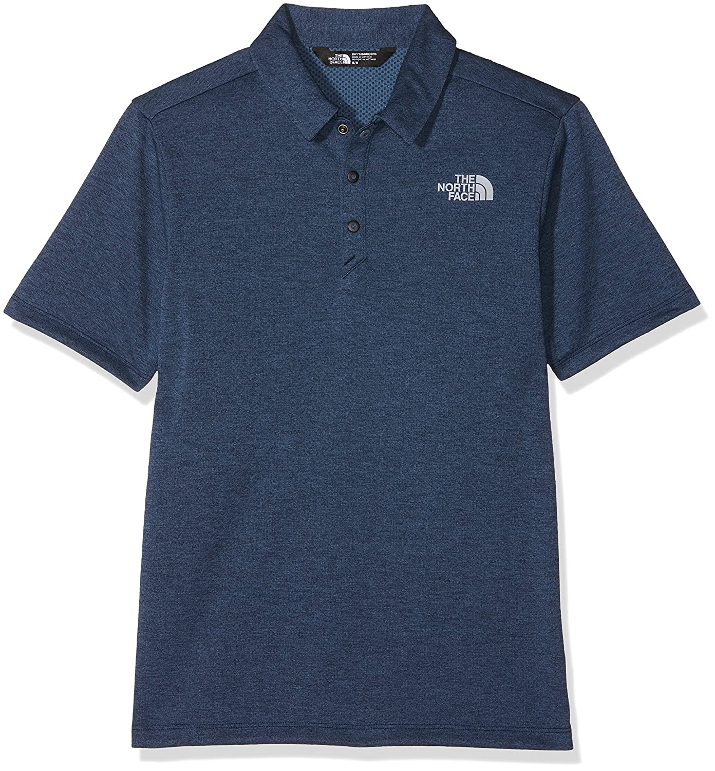 The North Face B Shirt Cosmic BLU HTHR Polos para niñ o