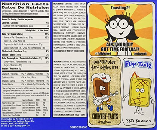Pop-Tarts Frosted Brown Sugar Cinnamon Toaster Pastries, 12 ...