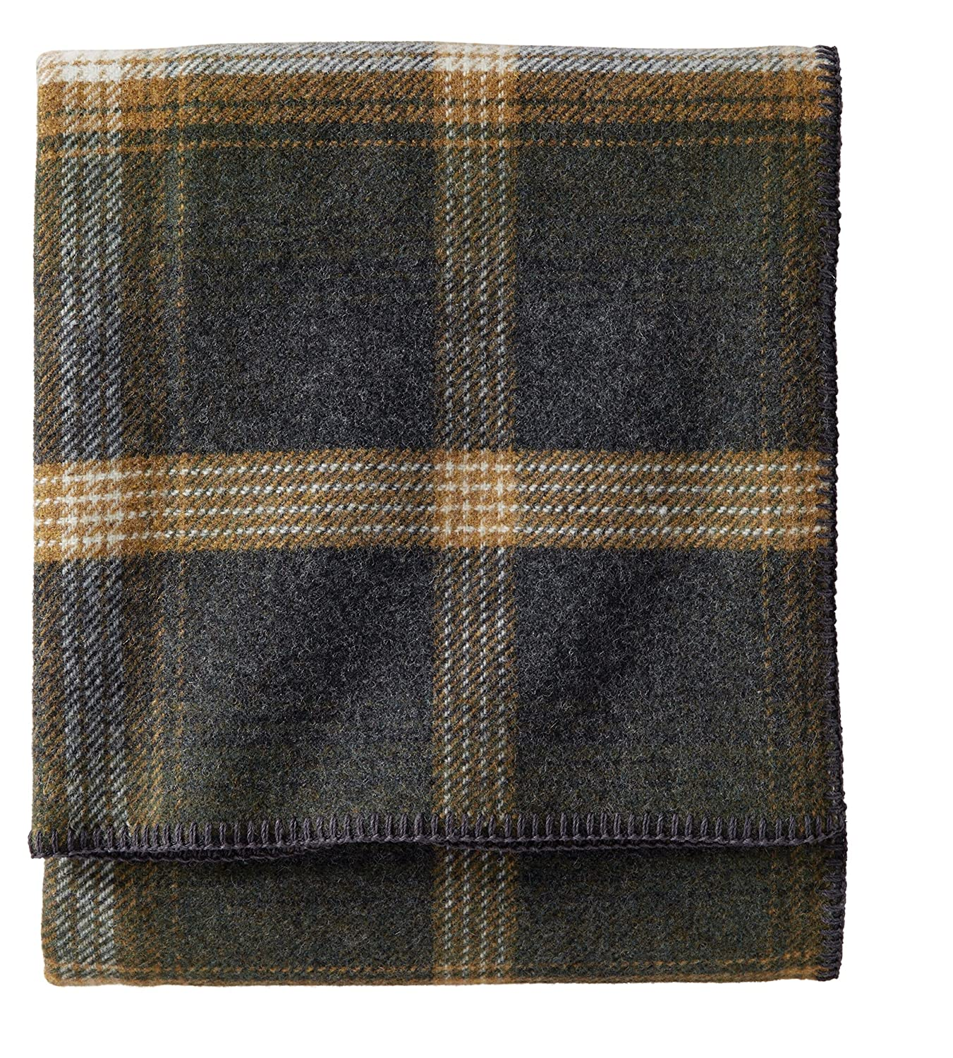 Pendleton Easy Care Throw, Twin, Oxford Plaid