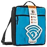 BinderBag Messenger Zippered 3-Ring Binder Bag