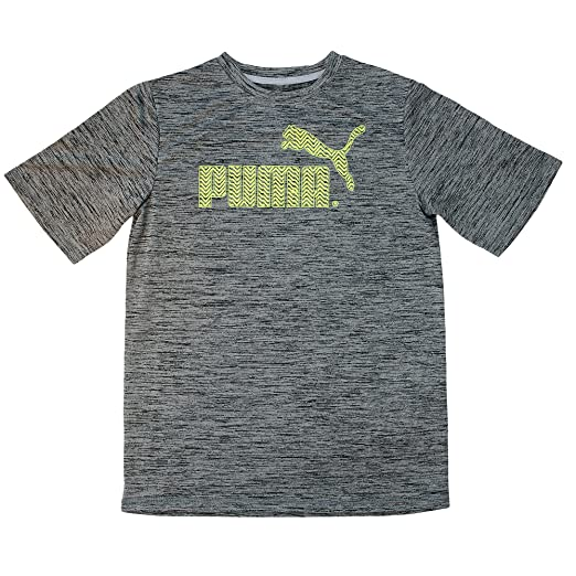 86bd72515c4b Amazon.com  PUMA Boys T-Shirts 4-7 Boys and 8-20 Boys No. 1 Logo Tee Solid  Blue White Grey  Sports   Outdoors