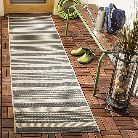 Gestreifter Teppich