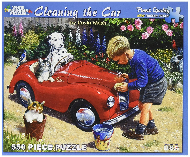 Weiß Mountain WH952 - Walsh: Autowäsche - Puzzle 550 Teile