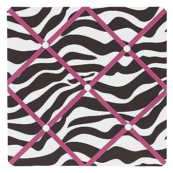 Amazon Sweet Jojo Designs Funky Zebra Fabric MemoryMemo Photo Extraordinary Funky Memo Boards