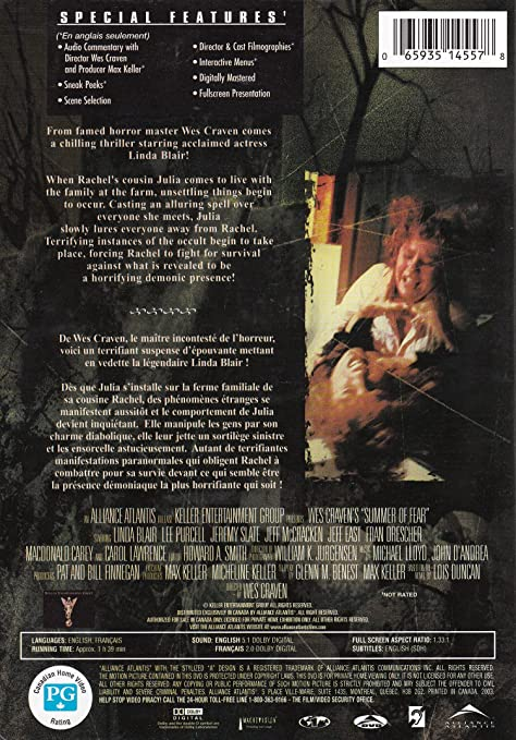 Amazon Wes Cravens Summer Of Fear Movies Tv