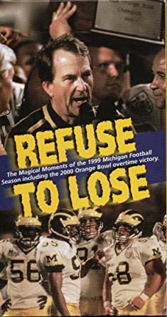 size 40 2b6c7 b7064 Amazon.com: Refuse to Lose - The Magical Moments of the 1999 ...