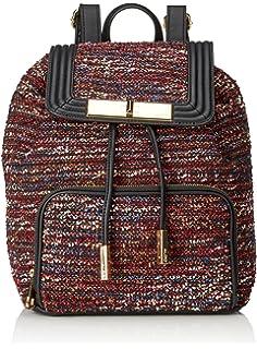 KangaROOS Vantaa Backpack, Sacs portés dos FemmeGris (black 500), 32x45x12 cm (B x H x T)