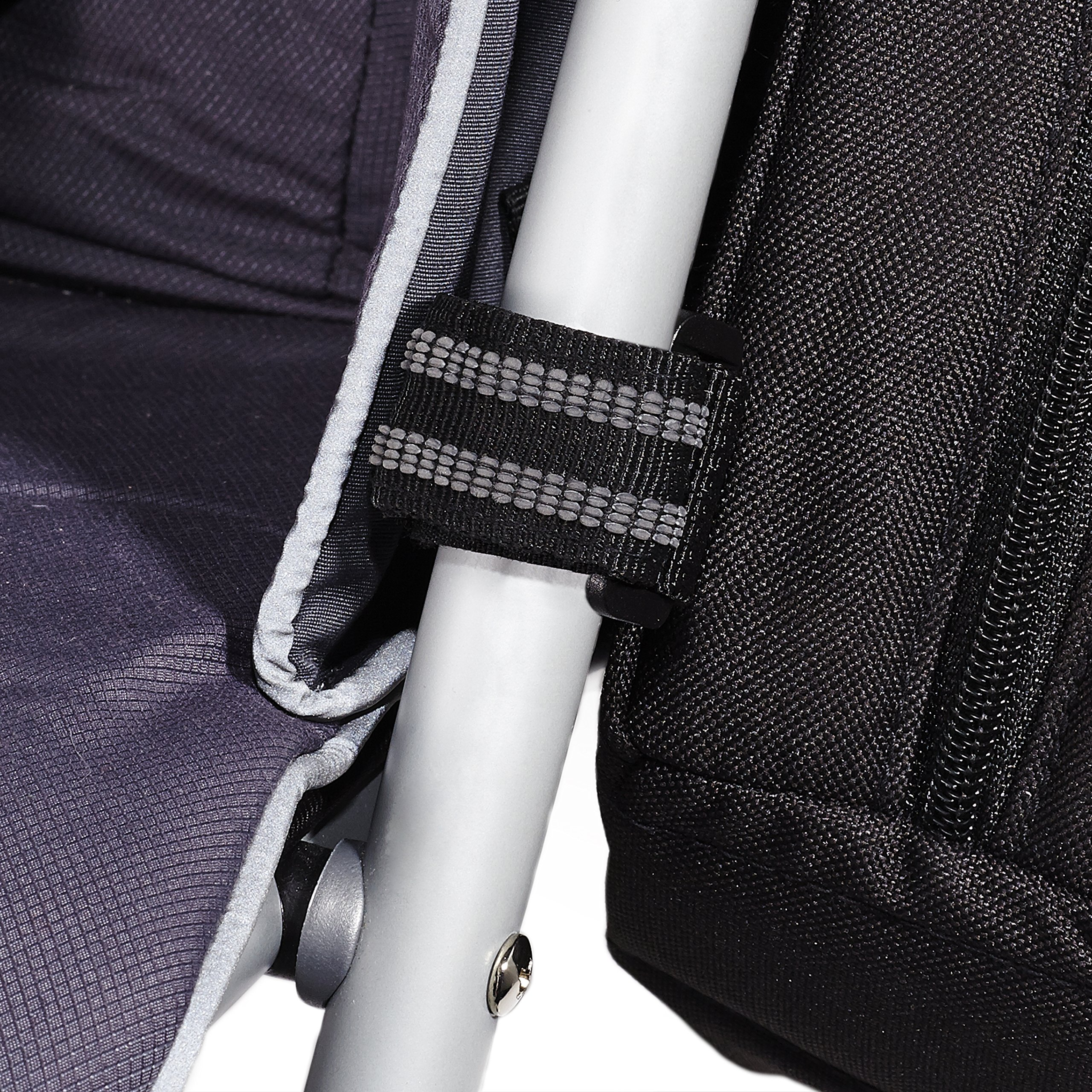 Skip Hop Grab and Go Attachable and Insulated Side Sling Stroller Saddle Bag and Organizer, 2 Pockets, Black by Skip Hop (Image #10)
