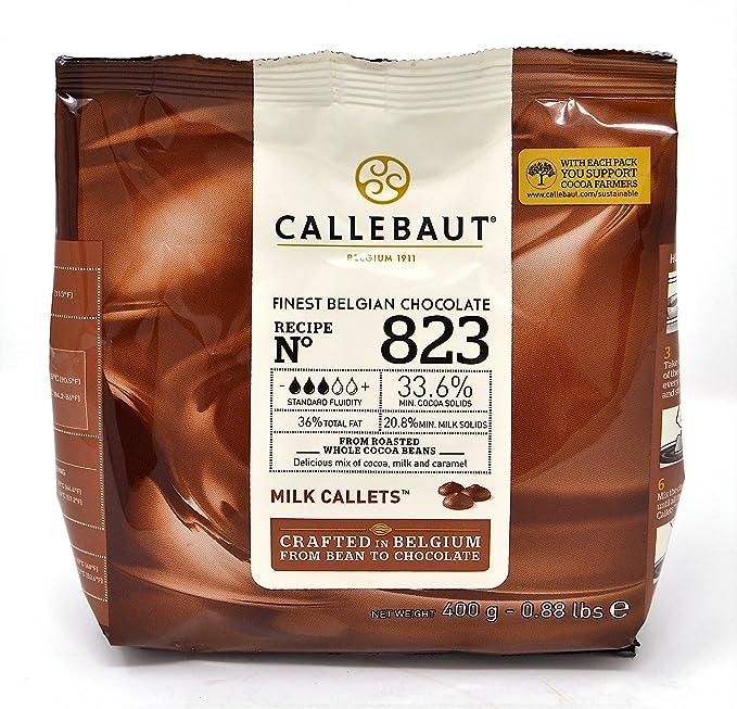 Callebaut N° 823 (33,6%) - Cobertura de Chocolate con Leche