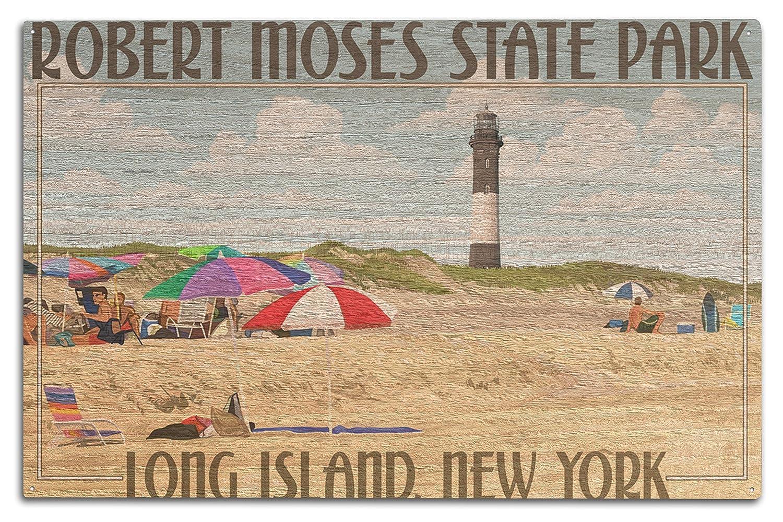 衝撃特価 ロバートMoses状態公園、Long Island、New York 15 Wood 12 x 18 Metal 10 Sign LANT-41303-12x18M B073684HB9 10 x 15 Wood Sign 10 x 15 Wood Sign, OPartsBox:f46b8ea3 --- arianechie.dominiotemporario.com