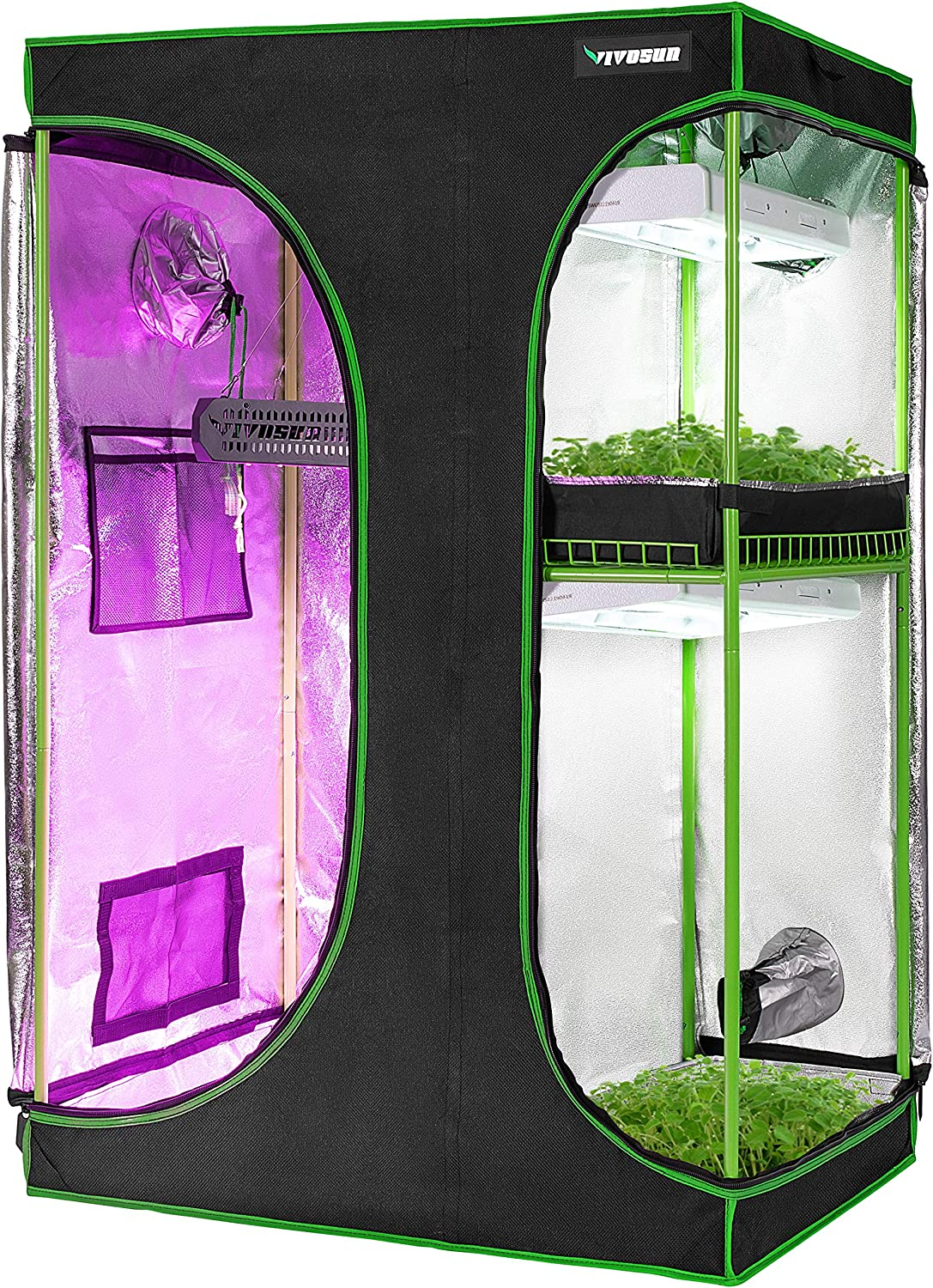 6 Best Small Grow Tents For Growing Indoor Plants [year] 3