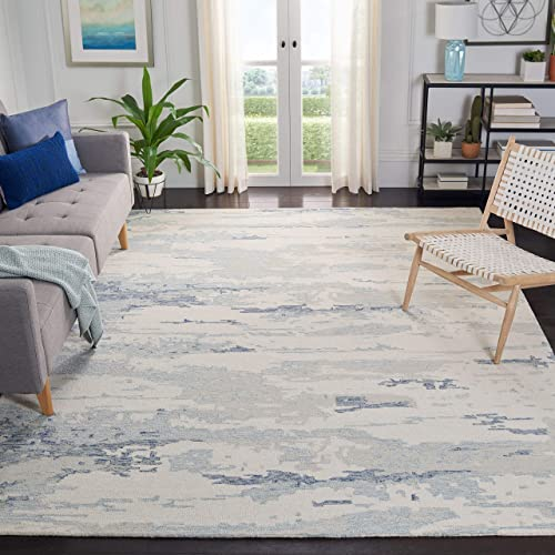 Safavieh Abstract Collection ABT465A Handmade Wool Area Rug