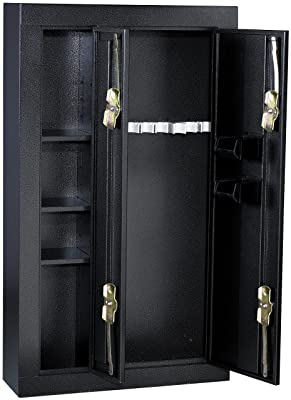 8-Gun Double Door Steel Security Cabinet