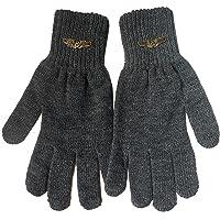 Gajraj Men's Gloves (GHF51_Dark Grey)