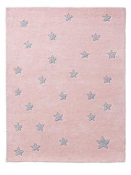 VERTBAUDET Tapis Petites étoiles Rose/étoiles TU: Amazon.fr: Cuisine ...