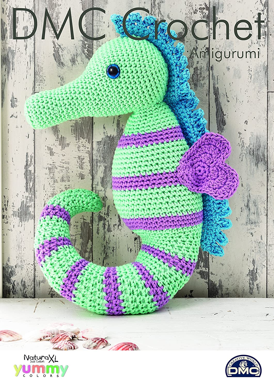 Dmc 15381l2 Seahorse Crochet Pattern Amazon Toys Games