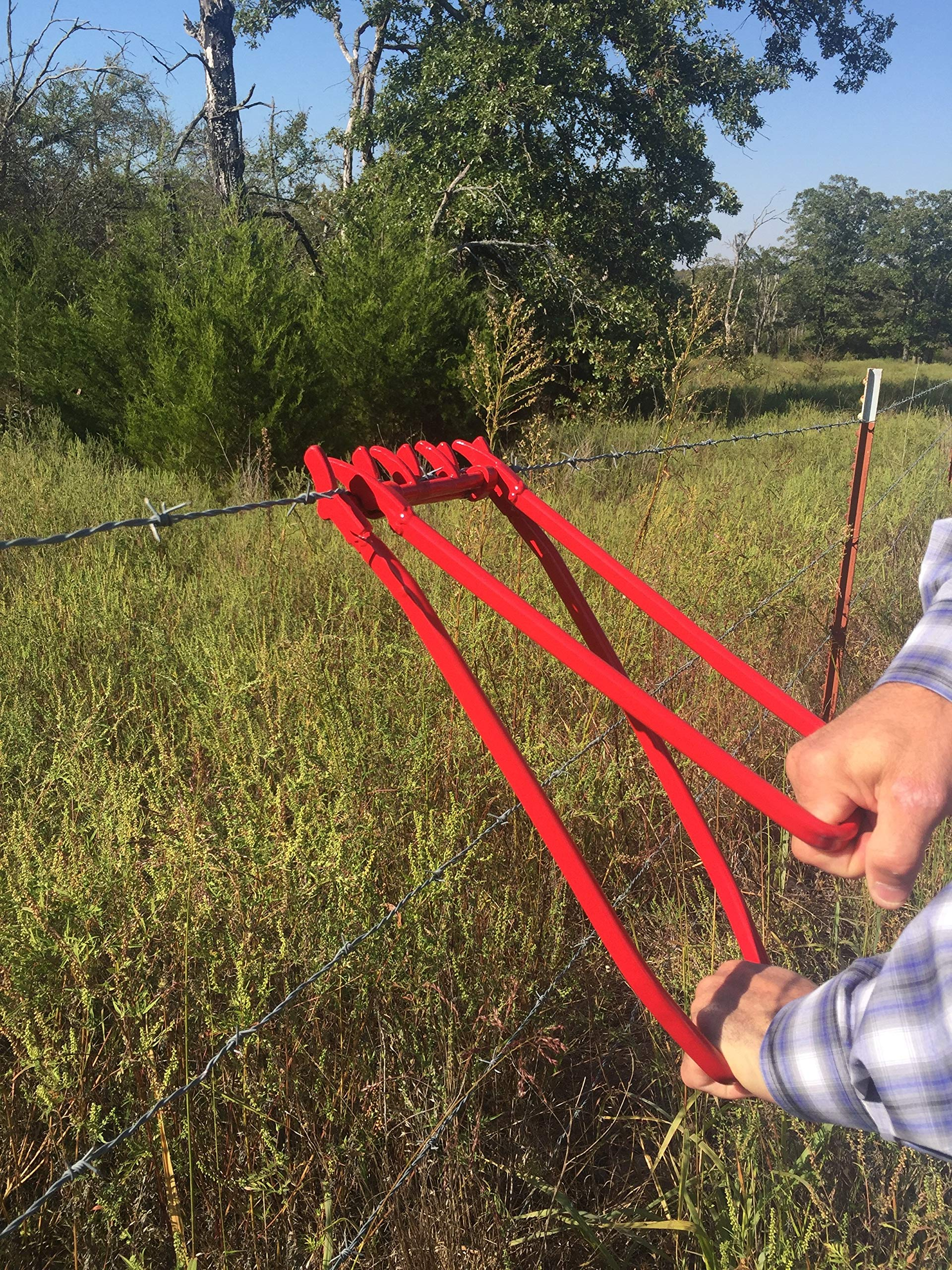 Wire Tight Fence Crimping Tool - Ranch Wire Tightener and Repair. Slick, High Tensile and Barbed Wire by Wire Tight (Image #5)