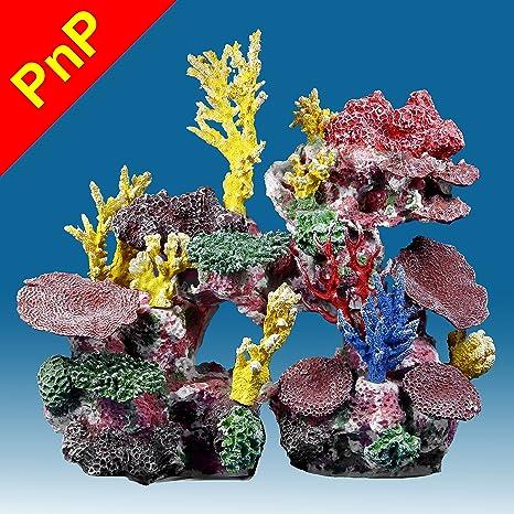 amazon com instant reef dm038pnp artificial coral reef aquarium