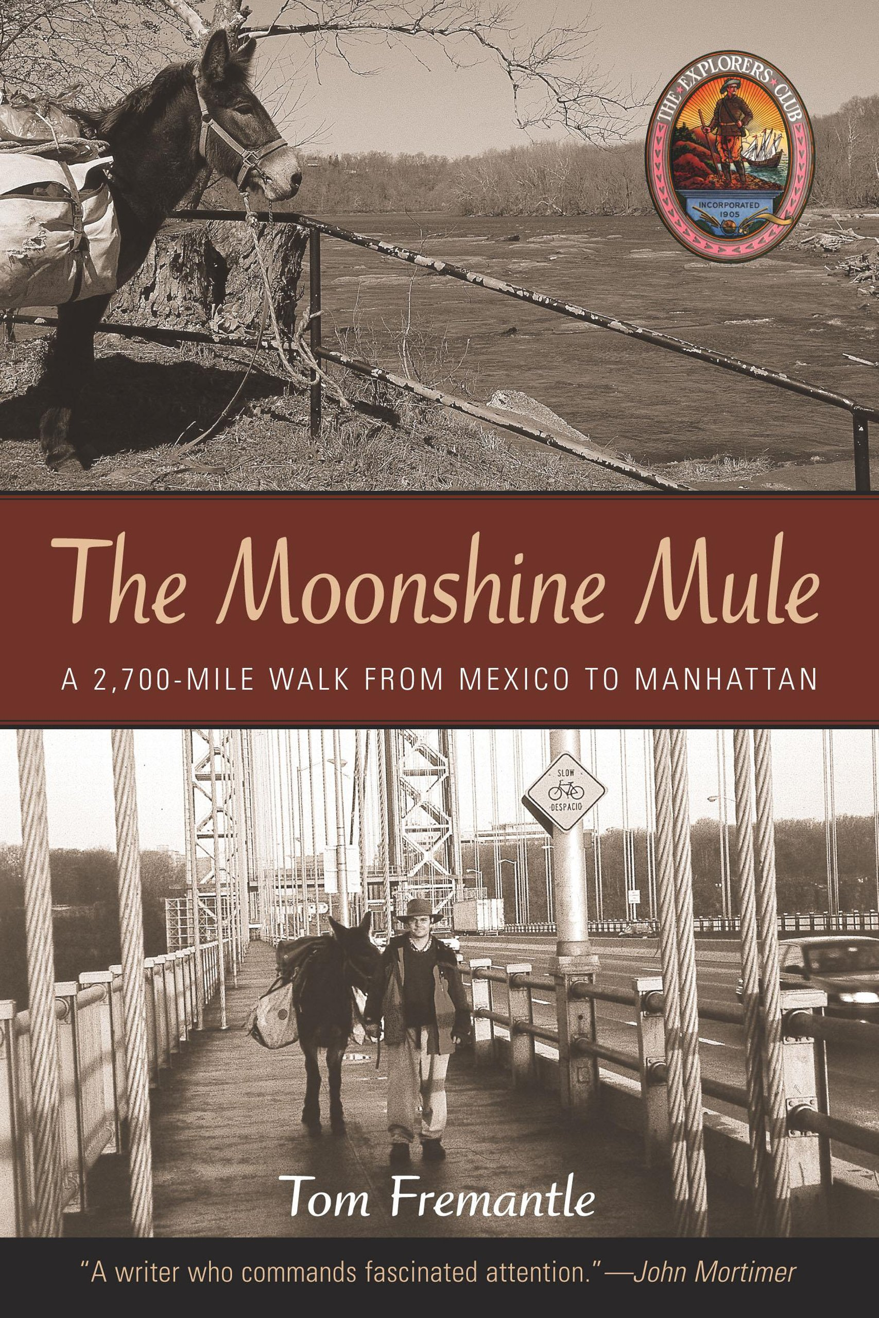 Download The Moonshine Mule: A 2,700-Mile Walk from Mexico to Manhattan (Explorers Club Book) pdf