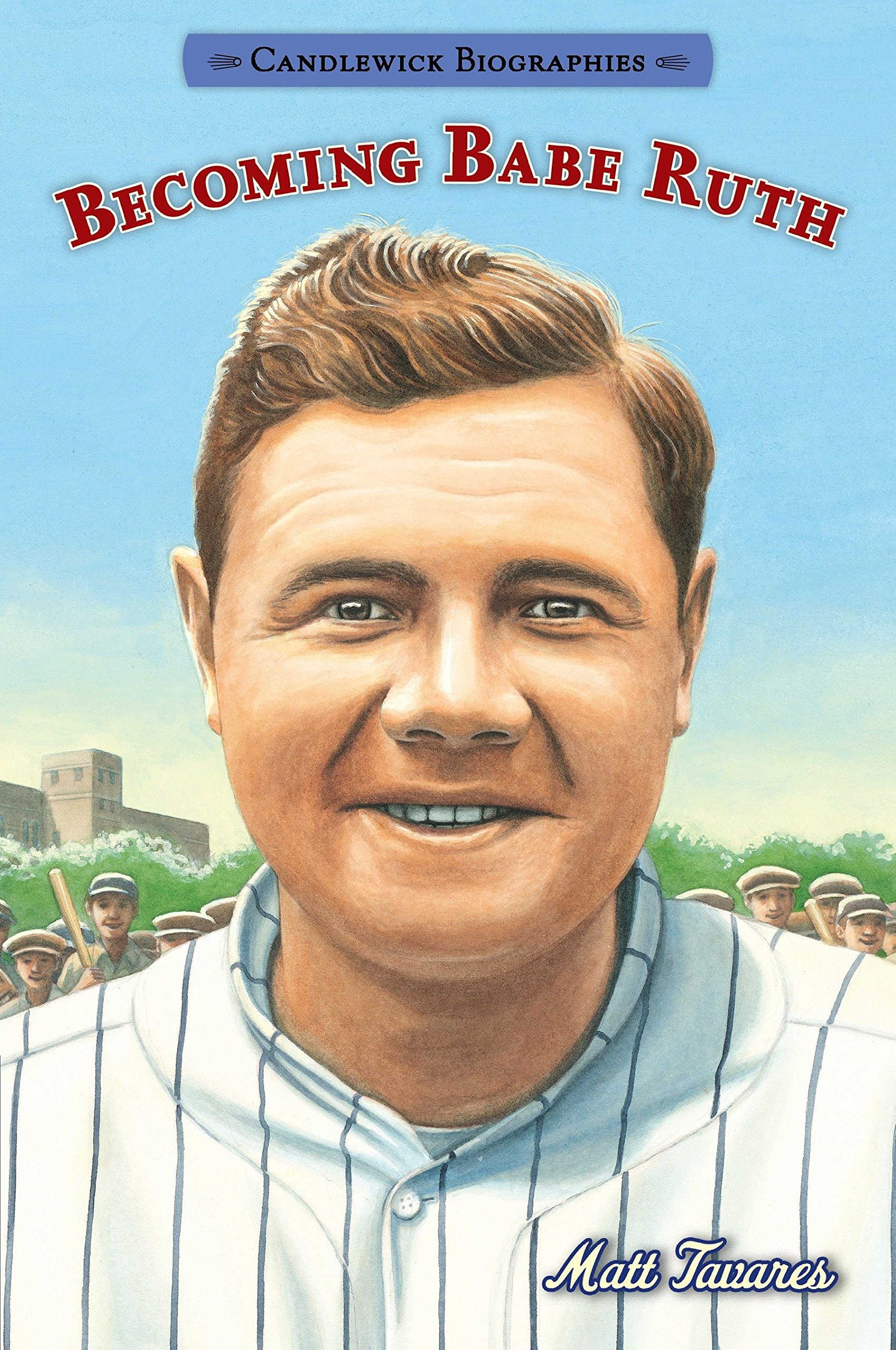 Read Online Becoming Babe Ruth: Candlewick Biographies pdf