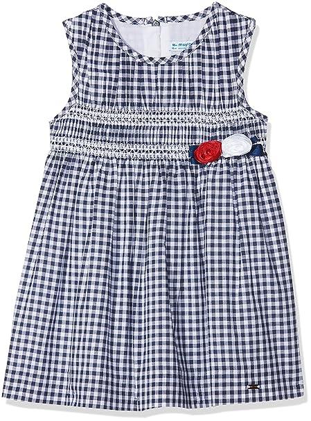 Mayoral 1928, Vestido para Niñas, Azul (Marino), 176 (Tamaño del