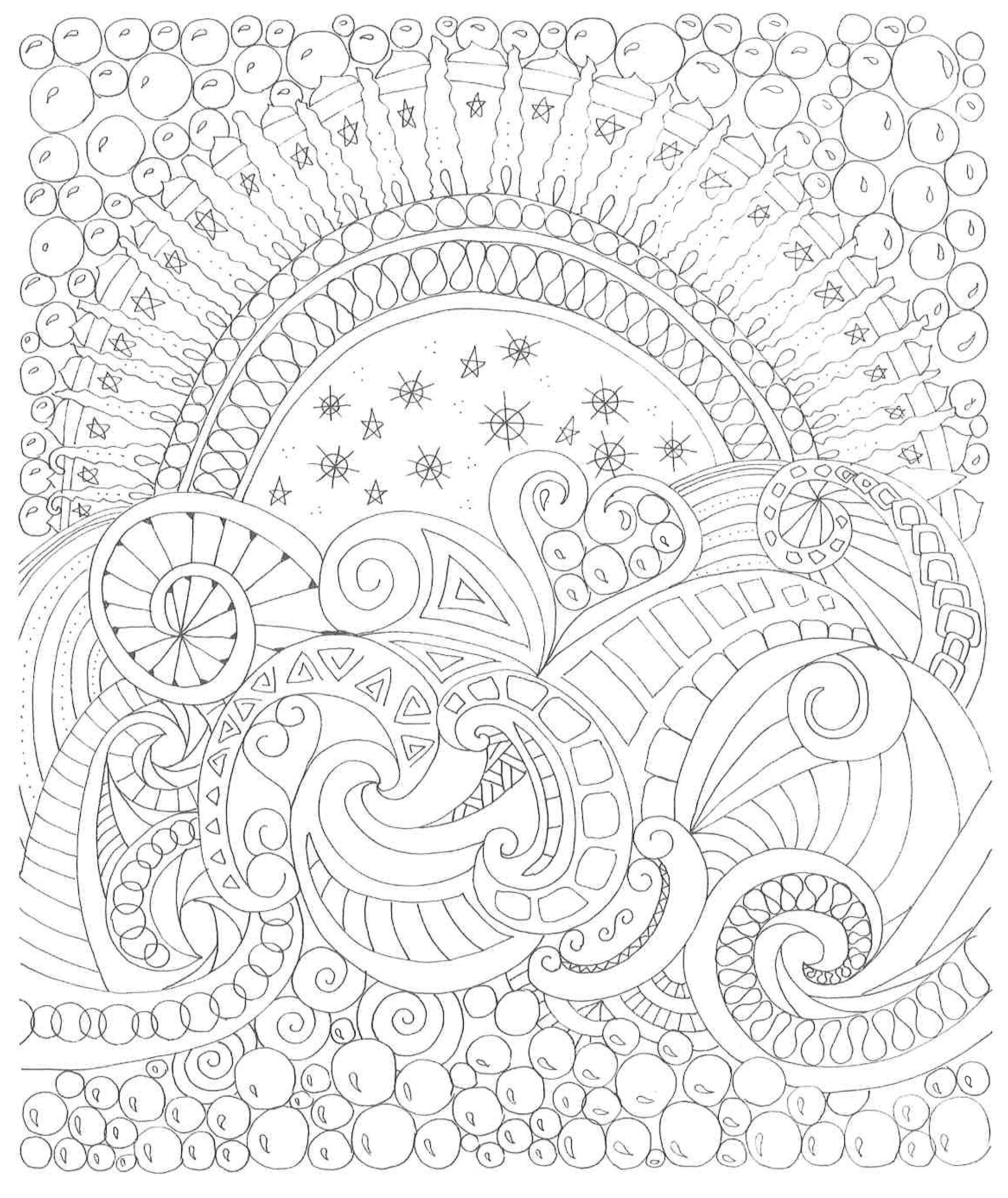 Zendoodle coloring calming swirls stress relieving designs to Zendoodle Coloring Pages Peacock Zendoodle Giraffe Drawing Coloring Pages