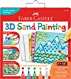 Faber-Castell FC14328 3D Sand Painting - Textured Sand Art Activity Kit For Kids