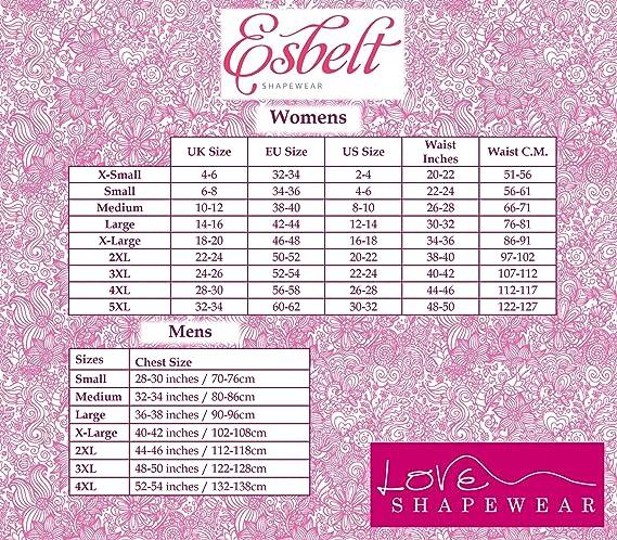 ff81ce88e9d Esbelt Womens Sport Waist Trainer Shapewear Helps Weight Loss and Tummy  Toning  Amazon.co.uk  Clothing