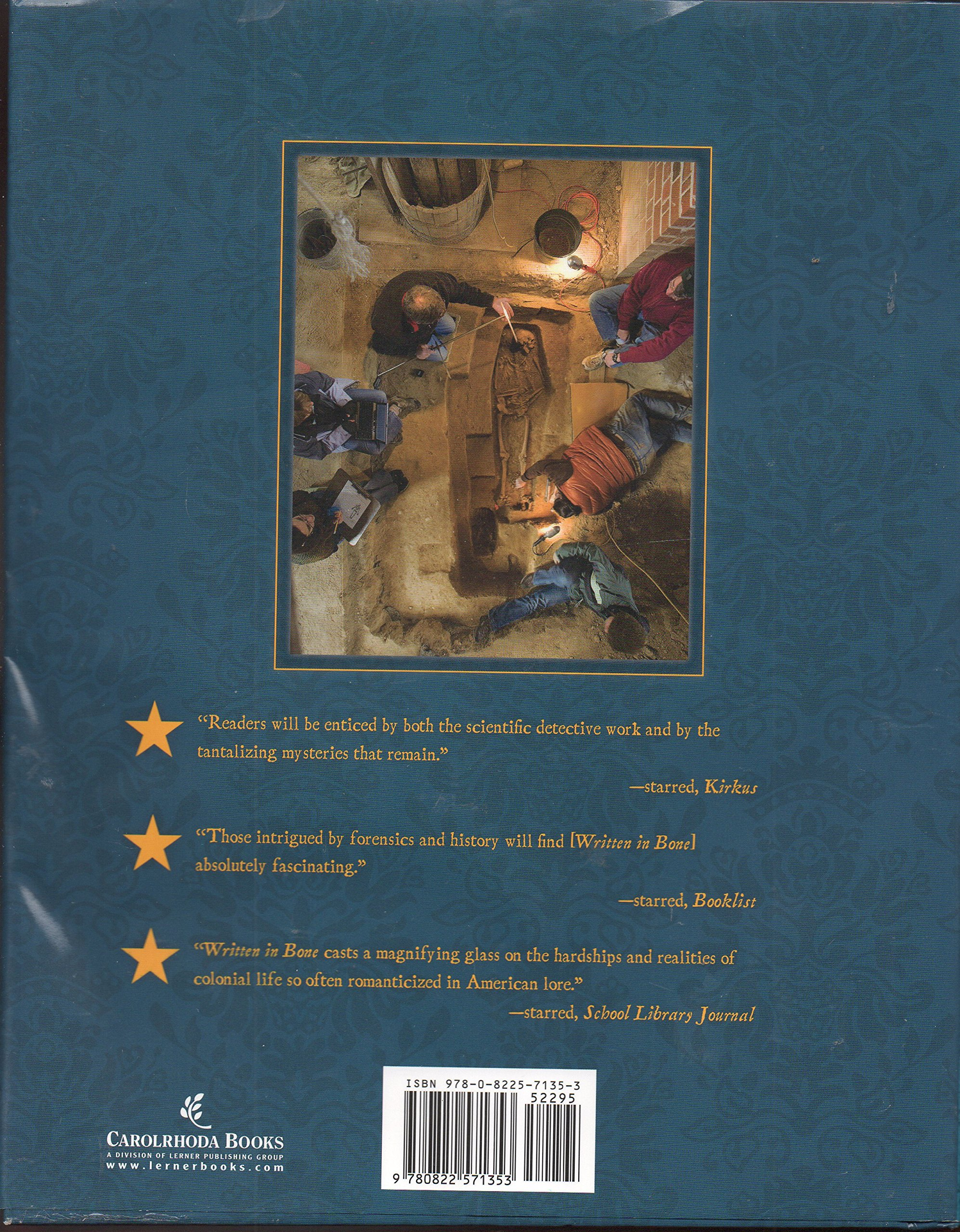 Written in Bone: Buried Lives of Jamestown and Colonial Maryland: Sally M.  Walker: 9780822571353: Amazon.com: Books