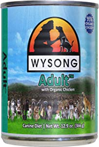 Wysong Adult Organic Chicken Canine Canned Diet Dog Food - 12.9 Ounce Can