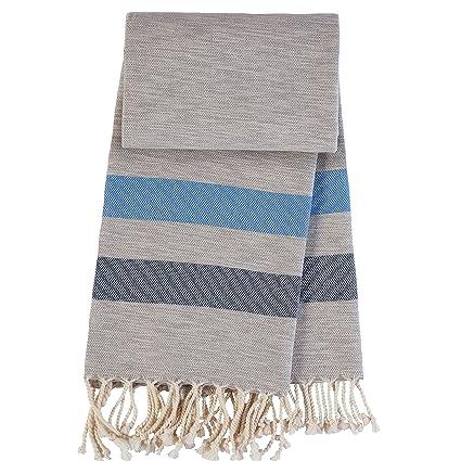 ANATURES Cool Royal blue/Navy blue - toalla de hammam toalla de bano toalla de