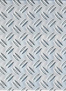 Lamiera Mandorlata Alluminio Spessore 3 Mm Dim 1250x1250 Mm Lega