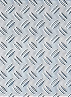 Lamiera Mandorlata Alluminio Spessore 3 Mm Dim 1250x1250