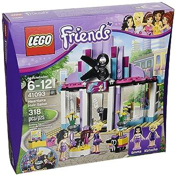 Amazon.com: LEGO Friends 41093 Heartlake Hair Salon: Toys & Games