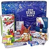 Uni-Boxx (13 Teile) Geschenk für Studenten zur Lernmotivation in Studium & Prüfungszeit – Geschenkbox mit Neuronade, Studentenfutter, Riegel, Ohropax und vielen Lernhilfen!